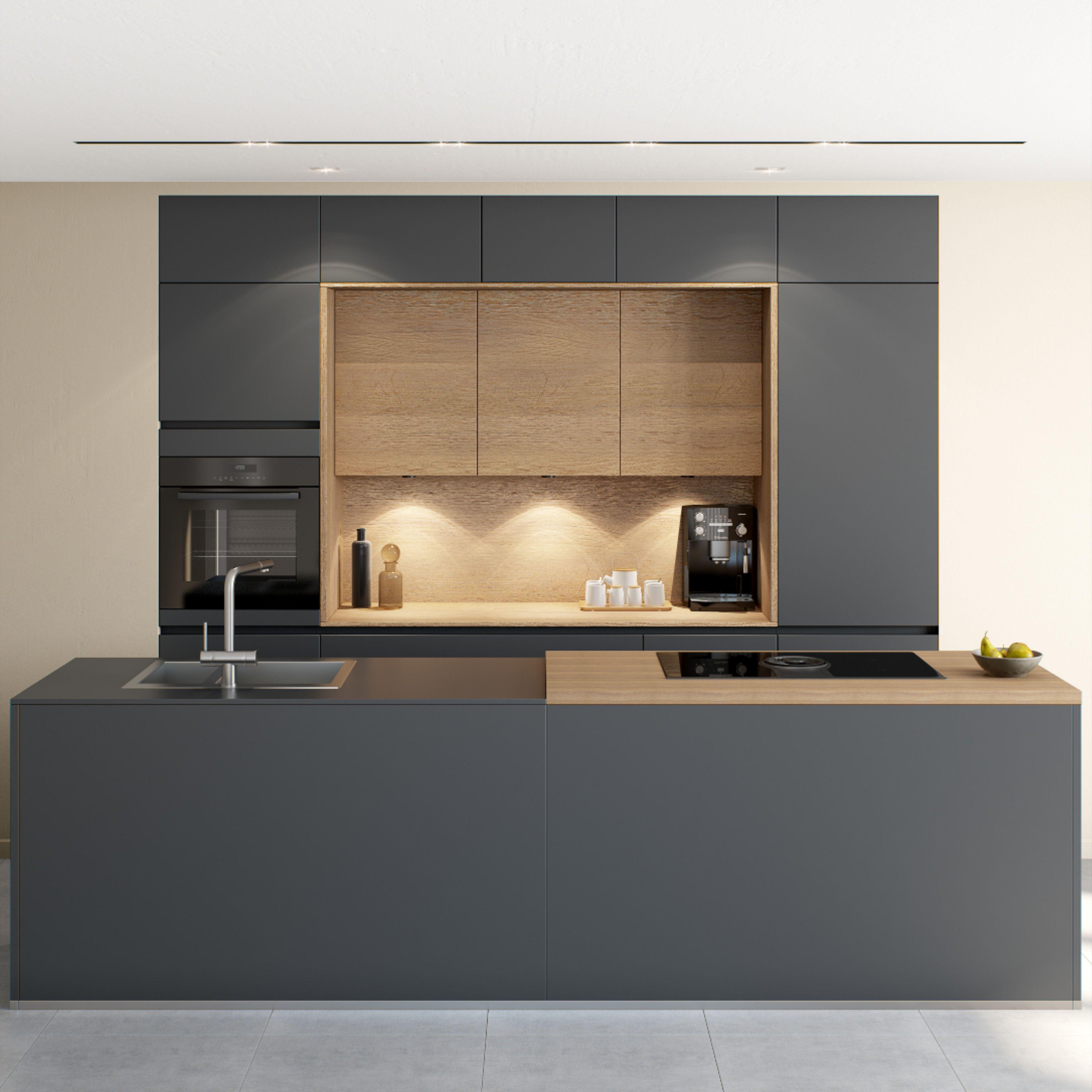 Epingle Sur Kitchen Moderne Contemporain