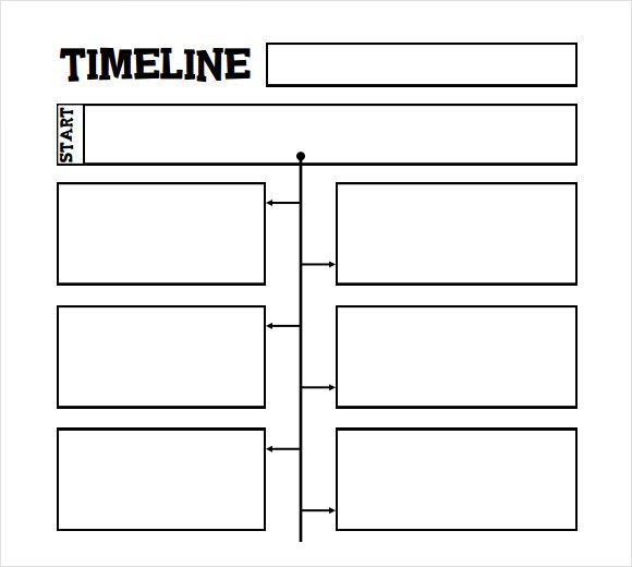 Printable Timeline Template For Kids  Homeschooling