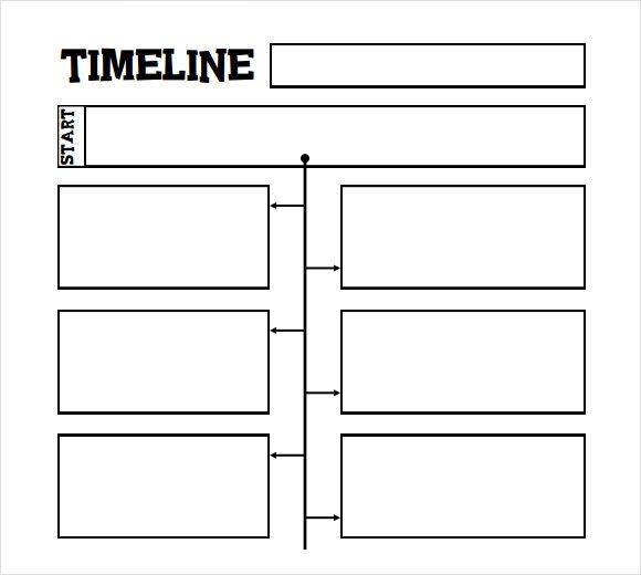 printable timeline template for kids Homeschooling Pinterest - timeline sample in word