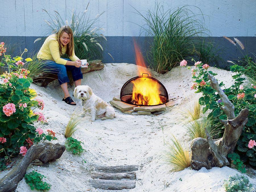 How To Make A Beach Backyard