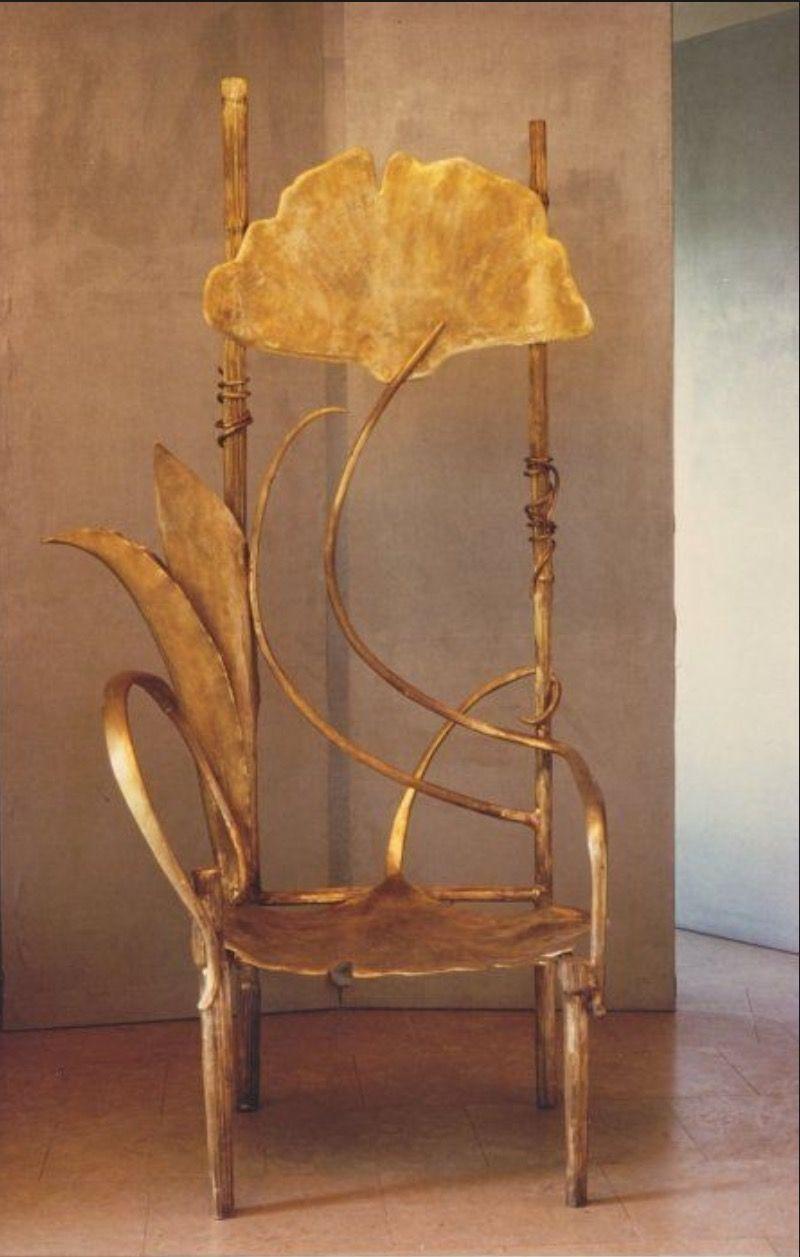 claude lalanne, trône de pauline(?de rothschild?)