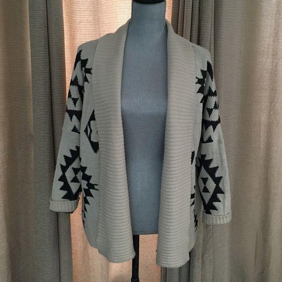 Black & Cream Overside Comfy Sweater Black & Cream