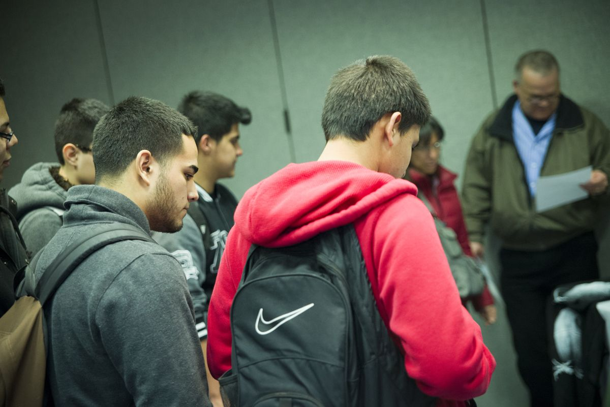 Photos from computer applications career exploration day