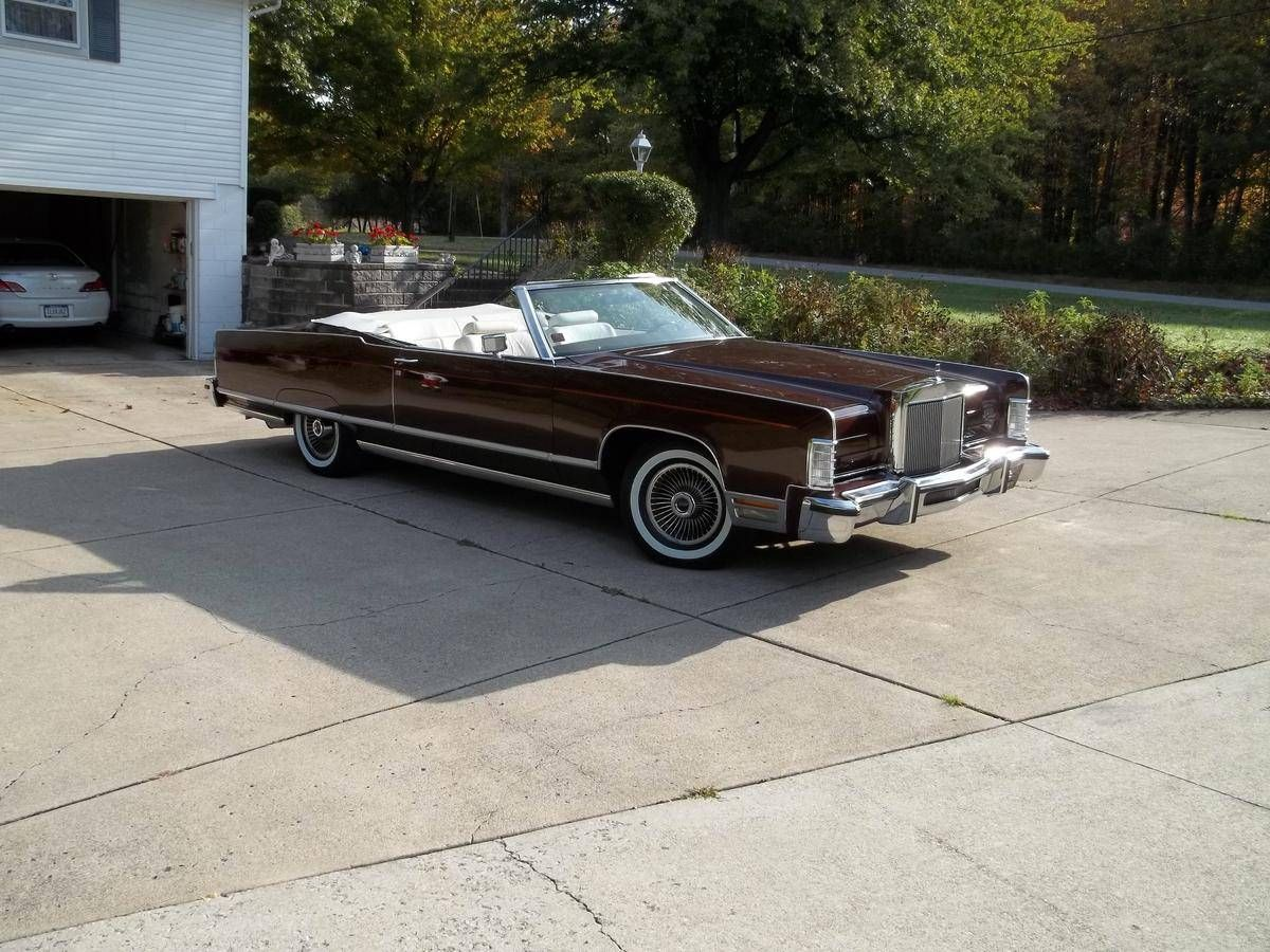 1977 Lincoln Continental Convertible for sale 1728651