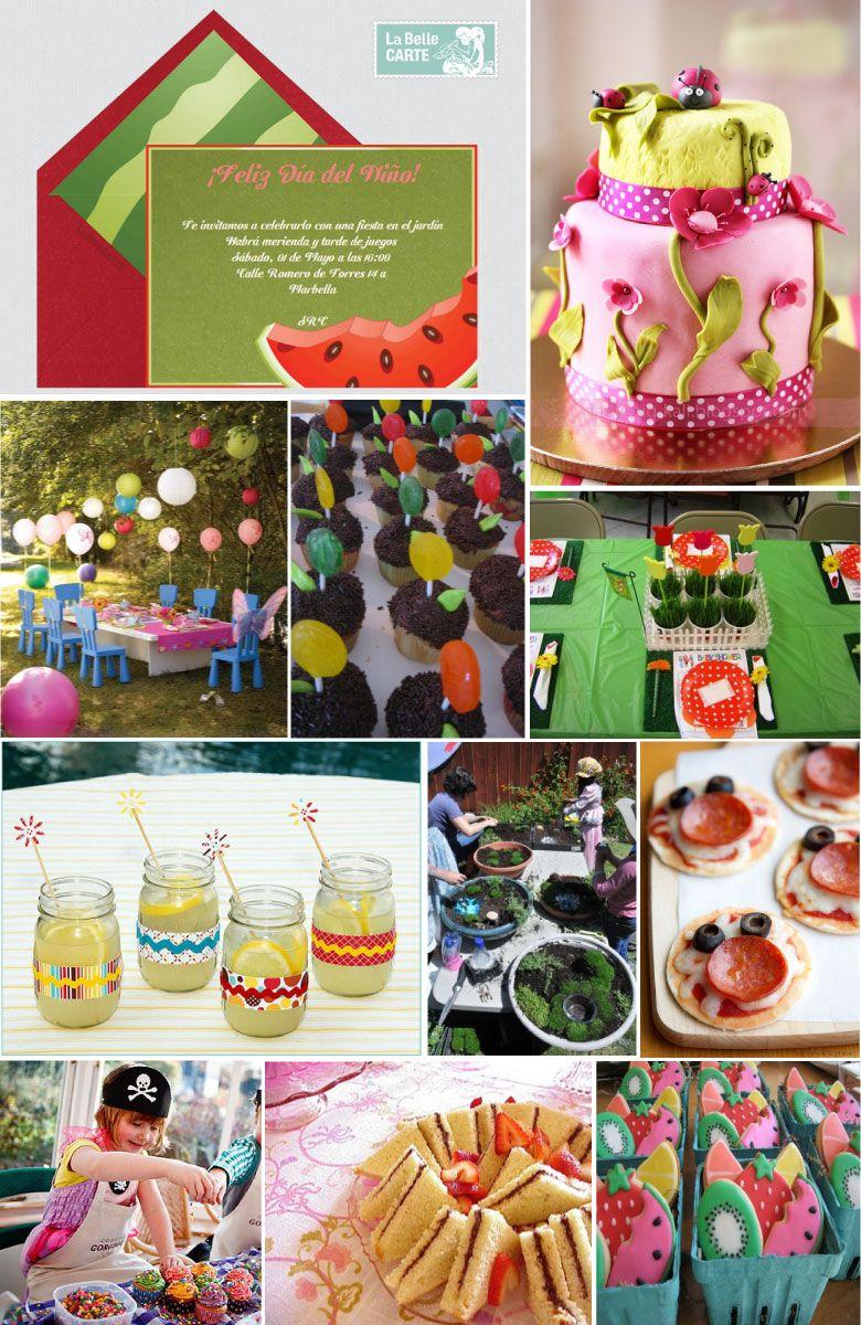 Invitaciones infantiles e ideas para celebrar el d a for Jardin infantil