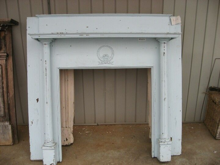Love this old mantle...can it be used?