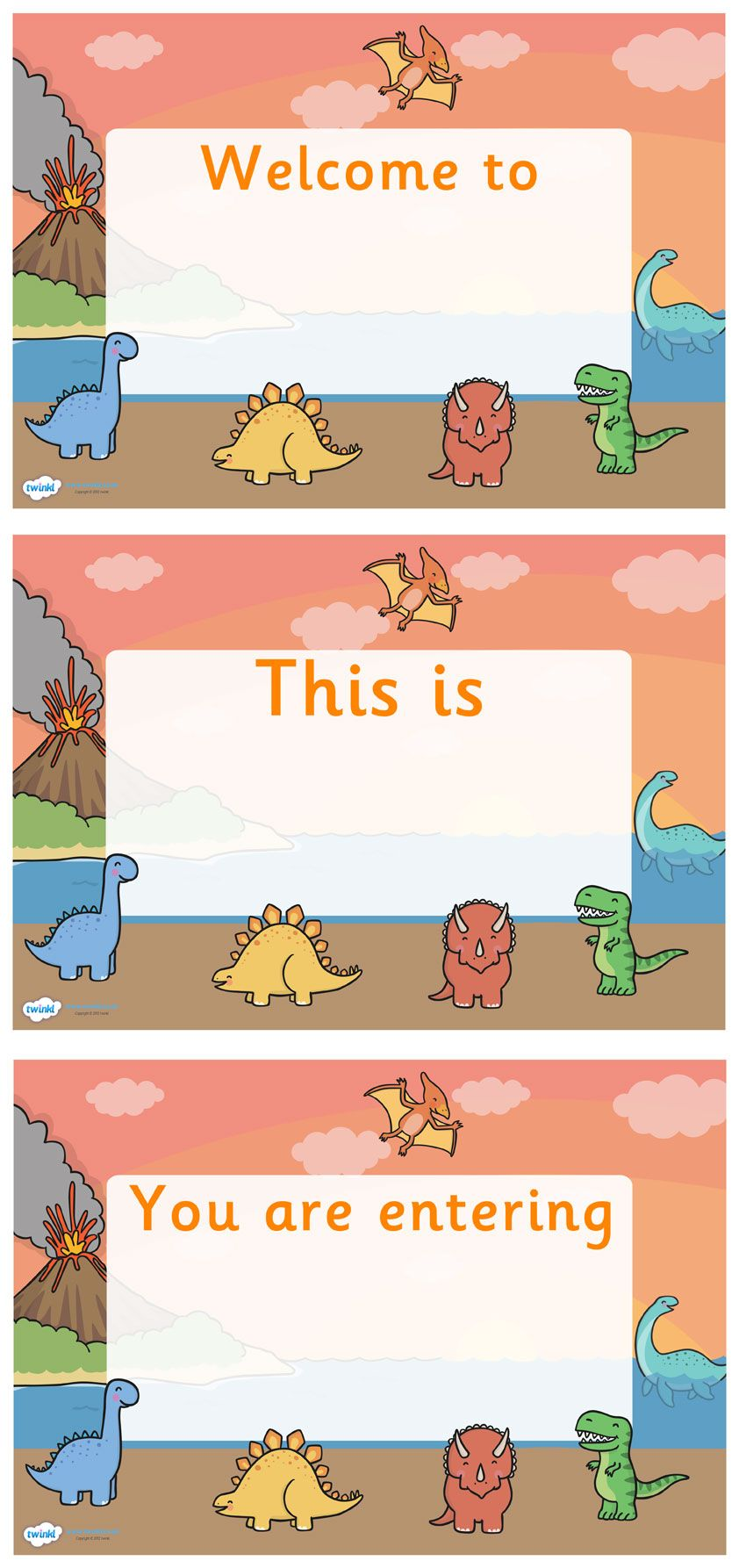 Free Classroom Decoration Resources : Twinkl resources gt dinosaur themed editable class welcome