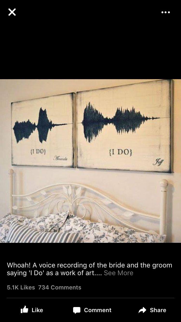 Voice pattern art