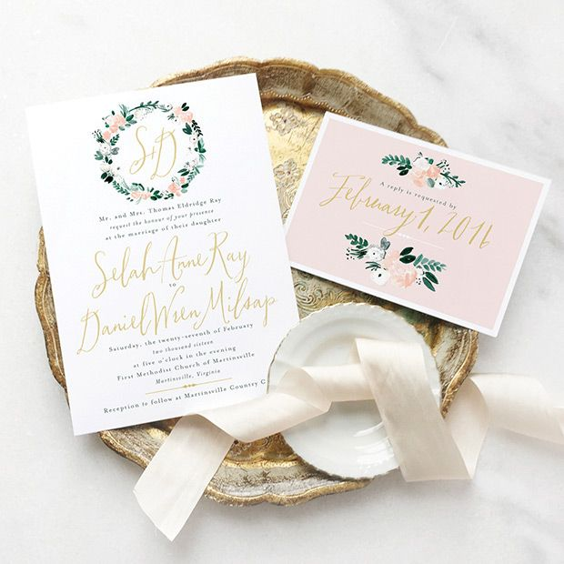 Pretty Paperie: 101 Inspiring Wedding Invitations | Beautiful ...