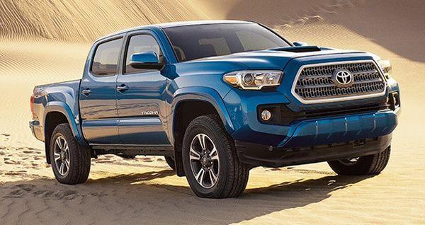 2016 Toyota Tacoma Color Options