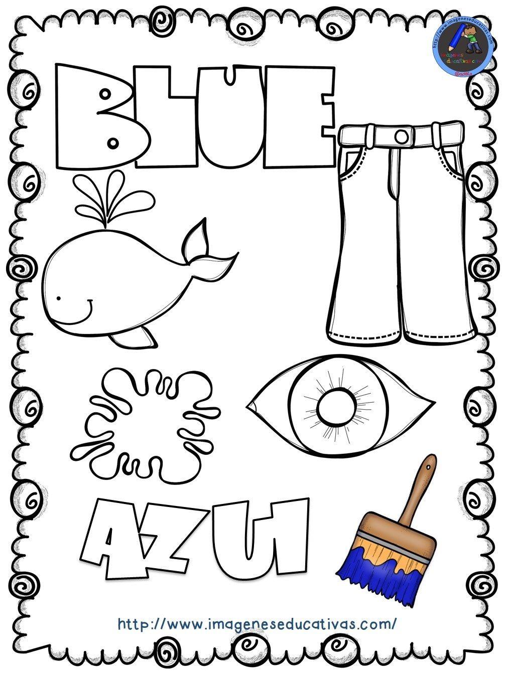 Mi libro de los colores para colorear | De todo para ...