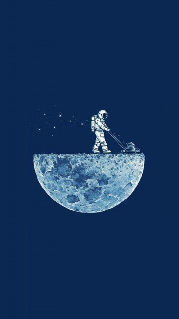 ▻ Me encanta la cortadora de grama en la luna | FONDOS PARA CELULAR ...