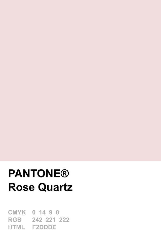 Pantone Colour Of The Year 2016 Rose Quartz