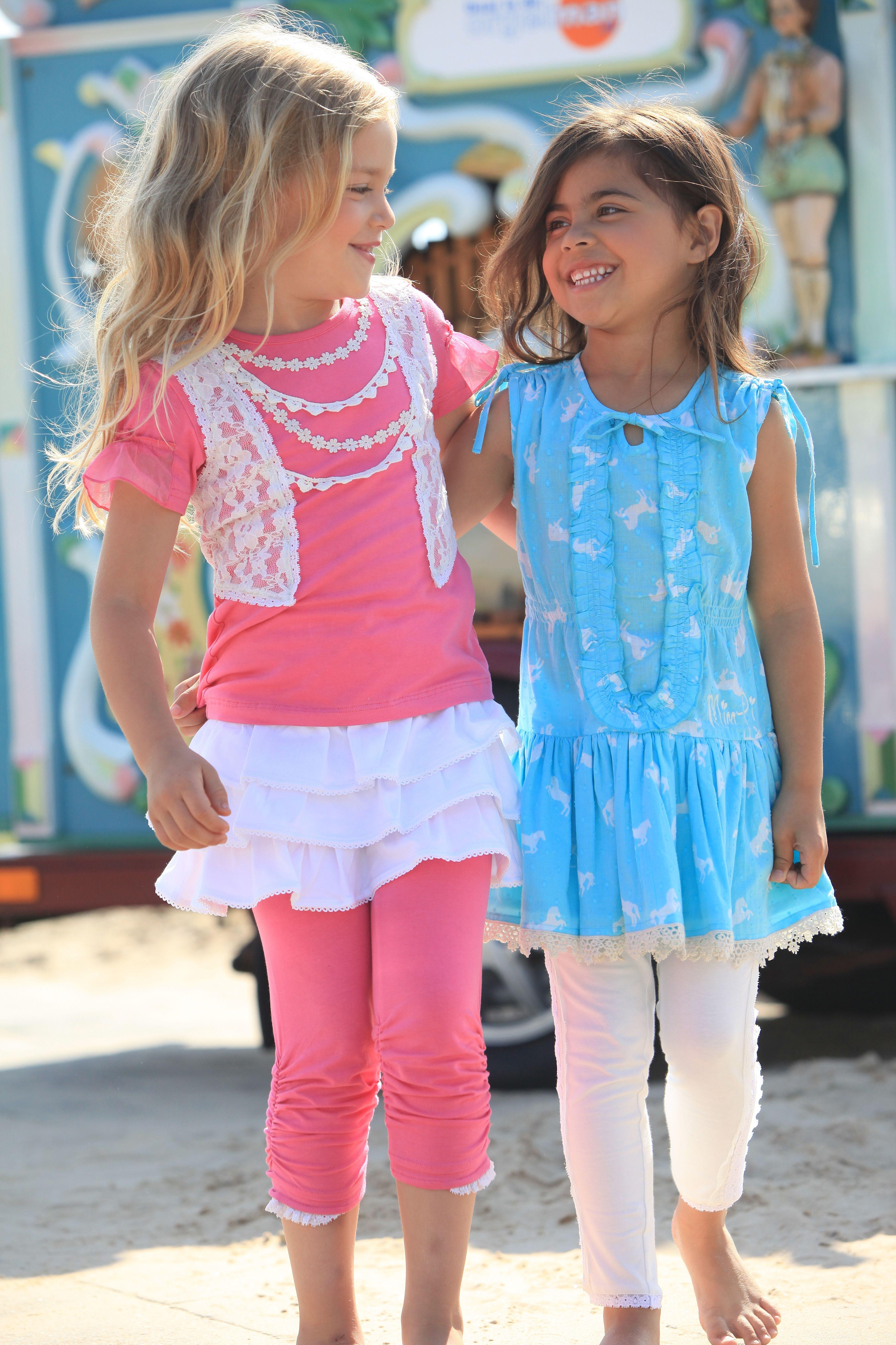 5a3f8e7f4dee Mim-pi girls friends forever #mimpi #cute #girls #kids #clothes #fashion  #pink #blue #aqua
