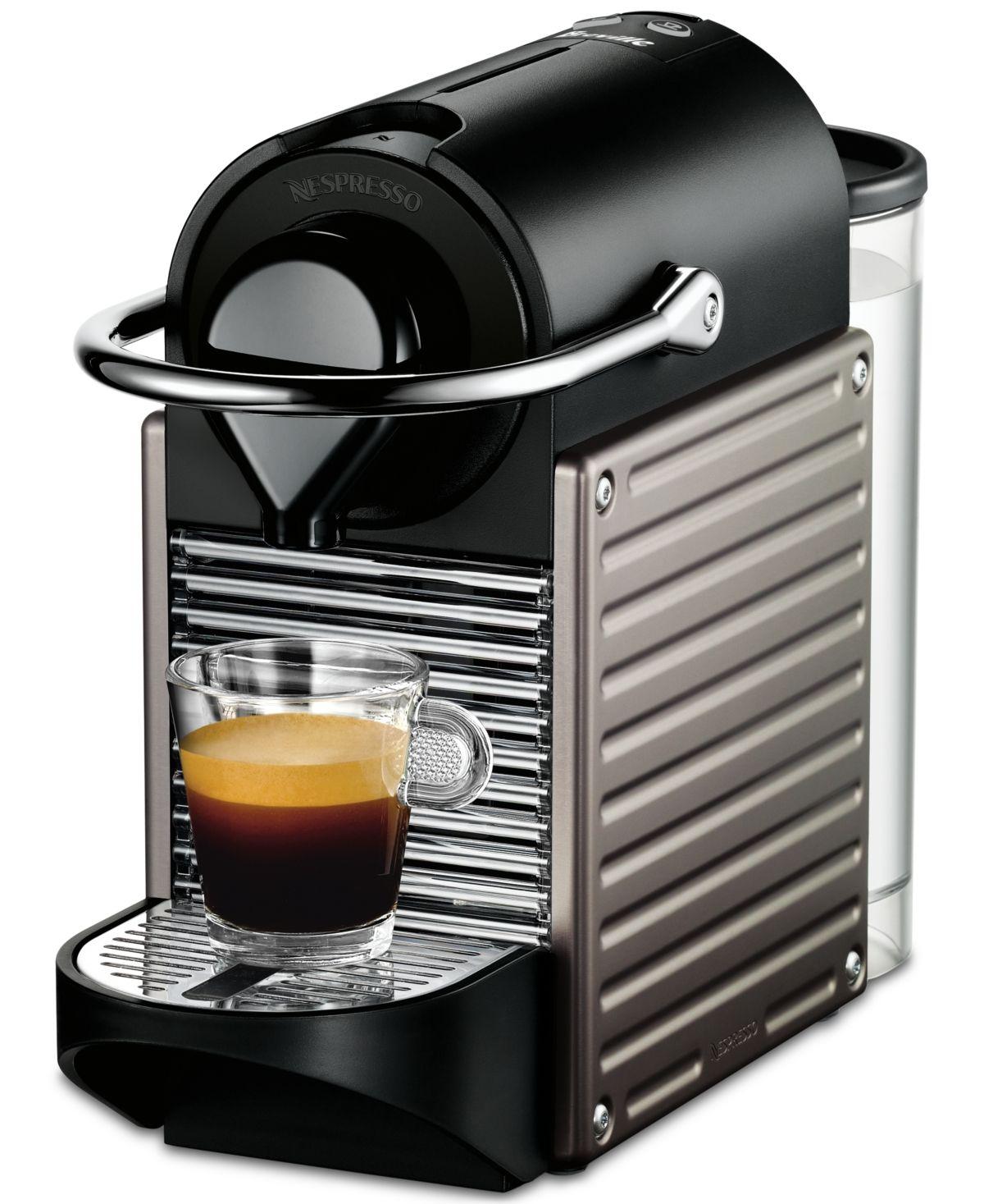 Nespresso by Breville Pixie Titan Espresso Machine Titan