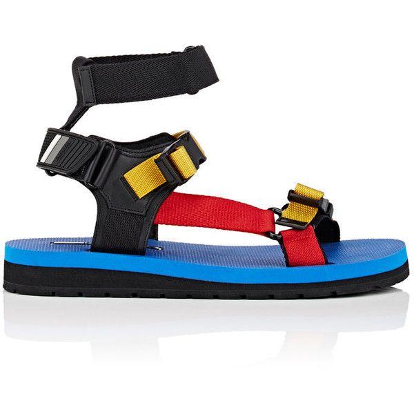 Prada Men's Runway Cage Sandals (€505