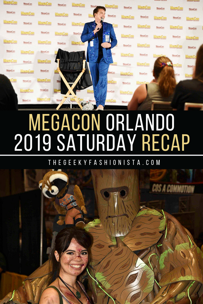 2019 MegaCon Orlando Saturday Recap // The Geeky Fashionista