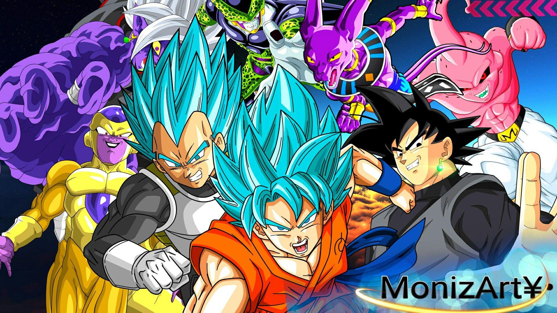 Dragon Ball Super Wallpaper Papel De Parede Fullhd Goku Ssj Blue