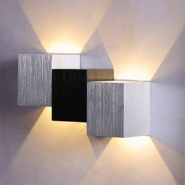 Modern LED 3W Up Down Wall Light Spot Light Wall Lamp Sconce Lighting