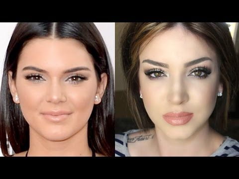 ▶ Kendall Jenner Makeup Tutorial | Red carpet AMA's - YouTube