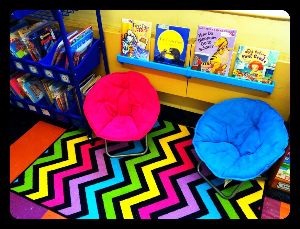Classroom Decor Rugs : A cupcake for the teacher classroom reveal lot of