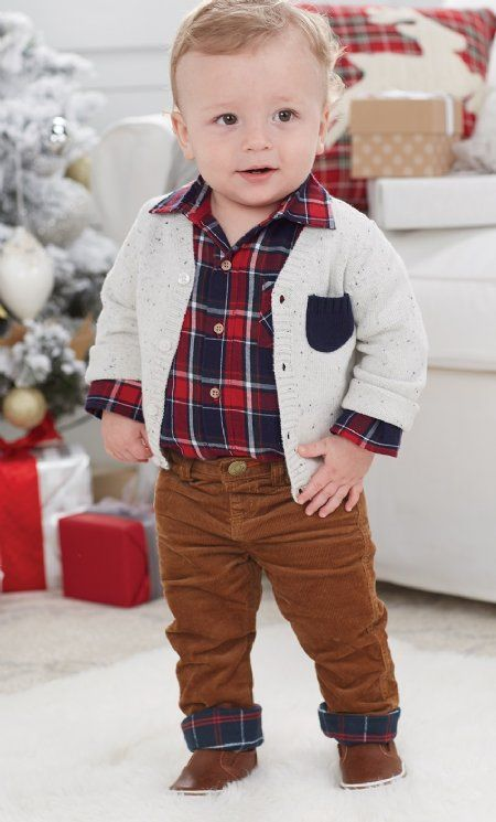 Boys Corduroy Pants Preordernewborn To 12 Months Baby Boy Christmas Outfit Toddler Boy Christmas Outfits Baby Boy Outfits