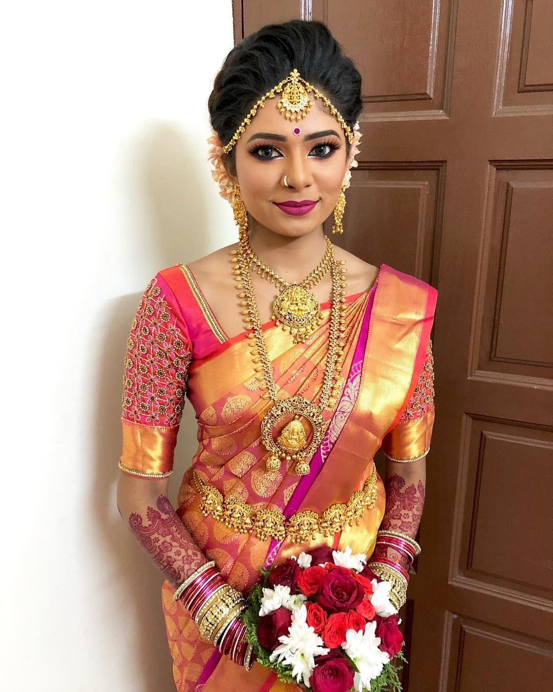 Our Stunning Bride Second Look Ashvinimurugesu Ashvini Murugesu Traditionalwedding Indiantraditionall Indian Bridal Hairstyles Stunning Bride Bride