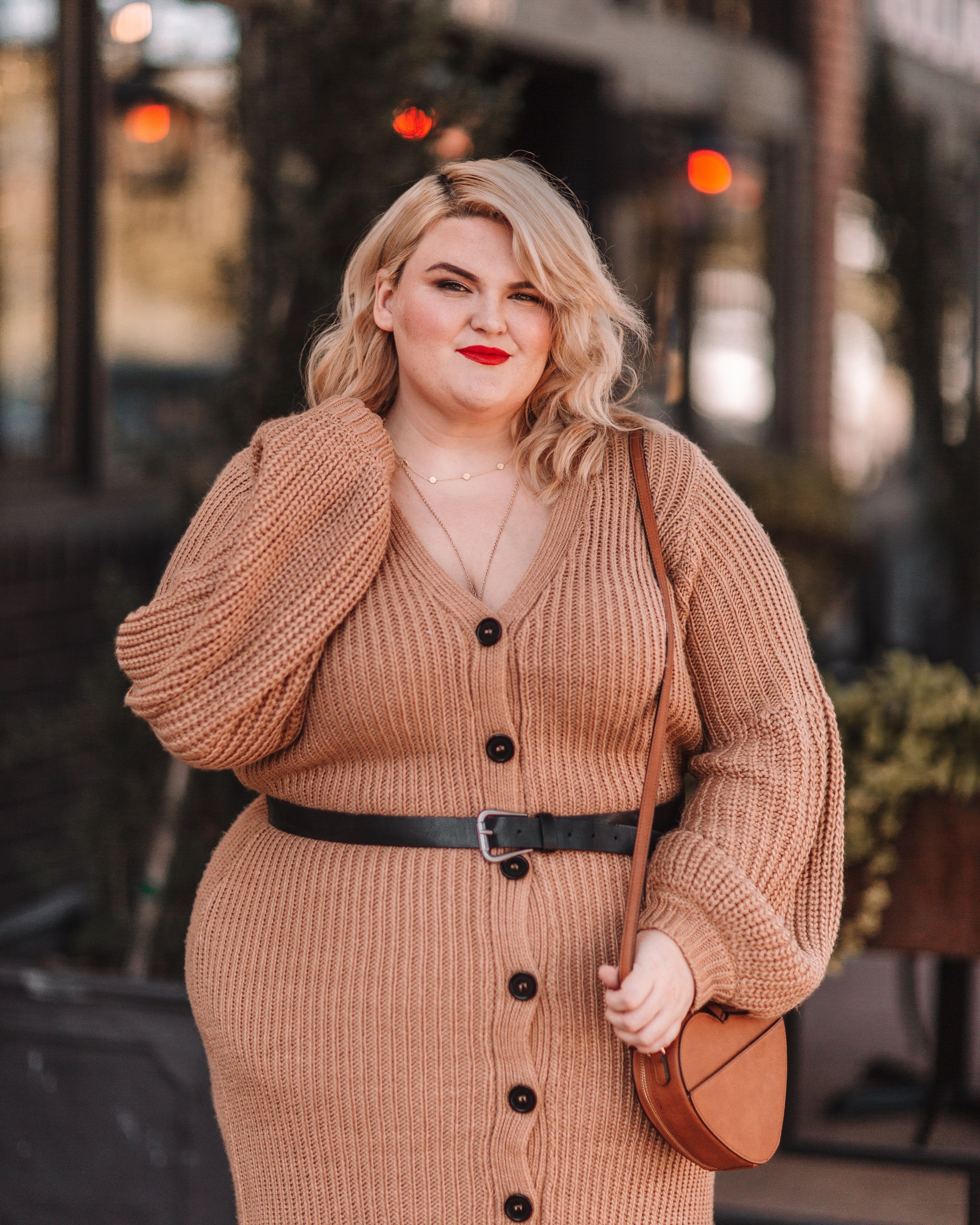 26++ Sweater dress plus size ideas in 2021