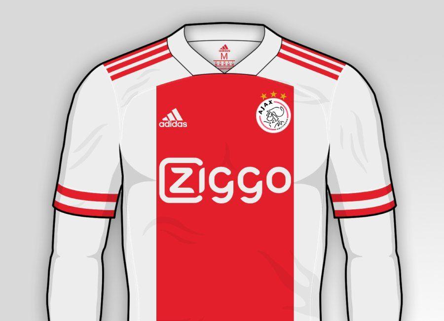 Ajax 2020 21 Home Kit Prediction Afca Ajaxamsterdam Afcajax Soccer Outfits Football Design Ajax