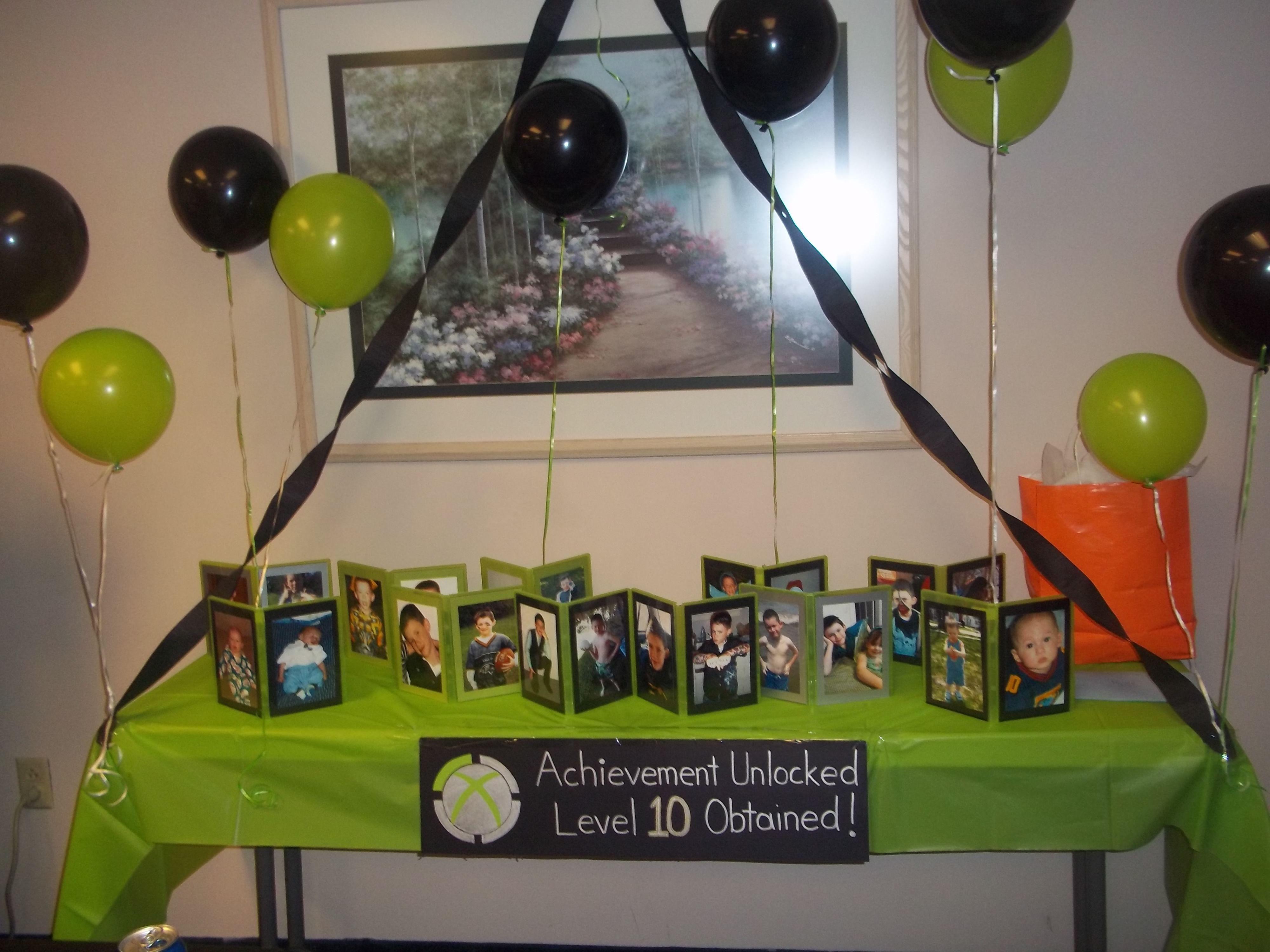 Xbox Birthday Party Game Ideas