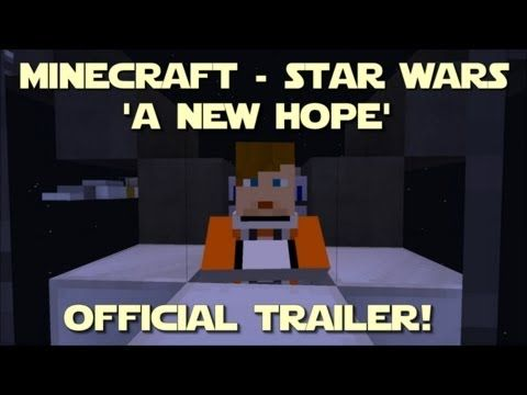 The Boys Are Going To Freak Out After Three Years In The Making The Minecraft Version Of Star Wars A New Hope Is A New Hope Star Wars Episode Iv
