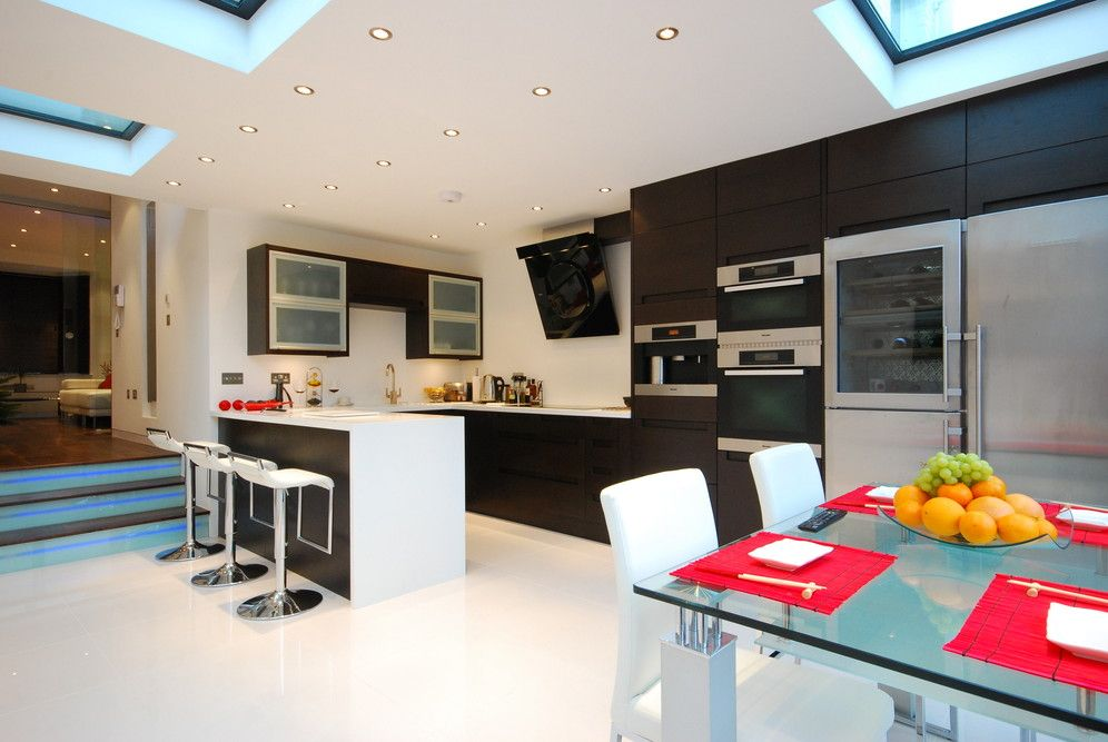 Galaxy White Porcelain tiles | kitchens ~ 21st ~ contemporary ...
