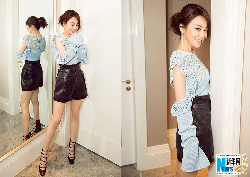 Actress Yan Ni poses for photo shoot   China Entertainment