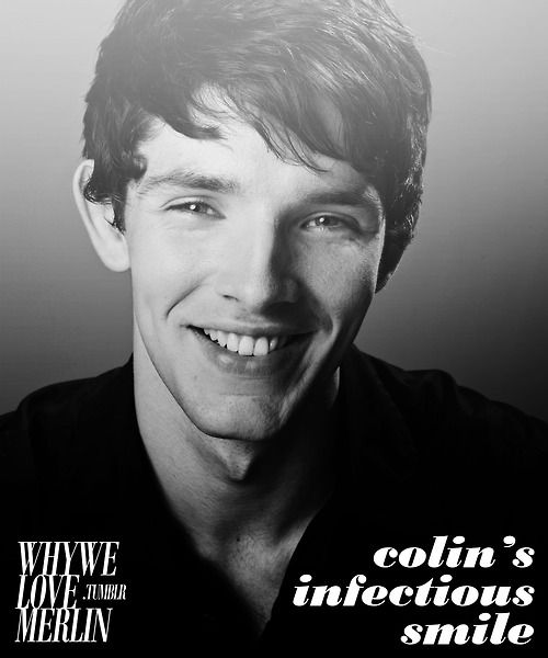 BBC Merlin | You can't help but smile when Colin does!