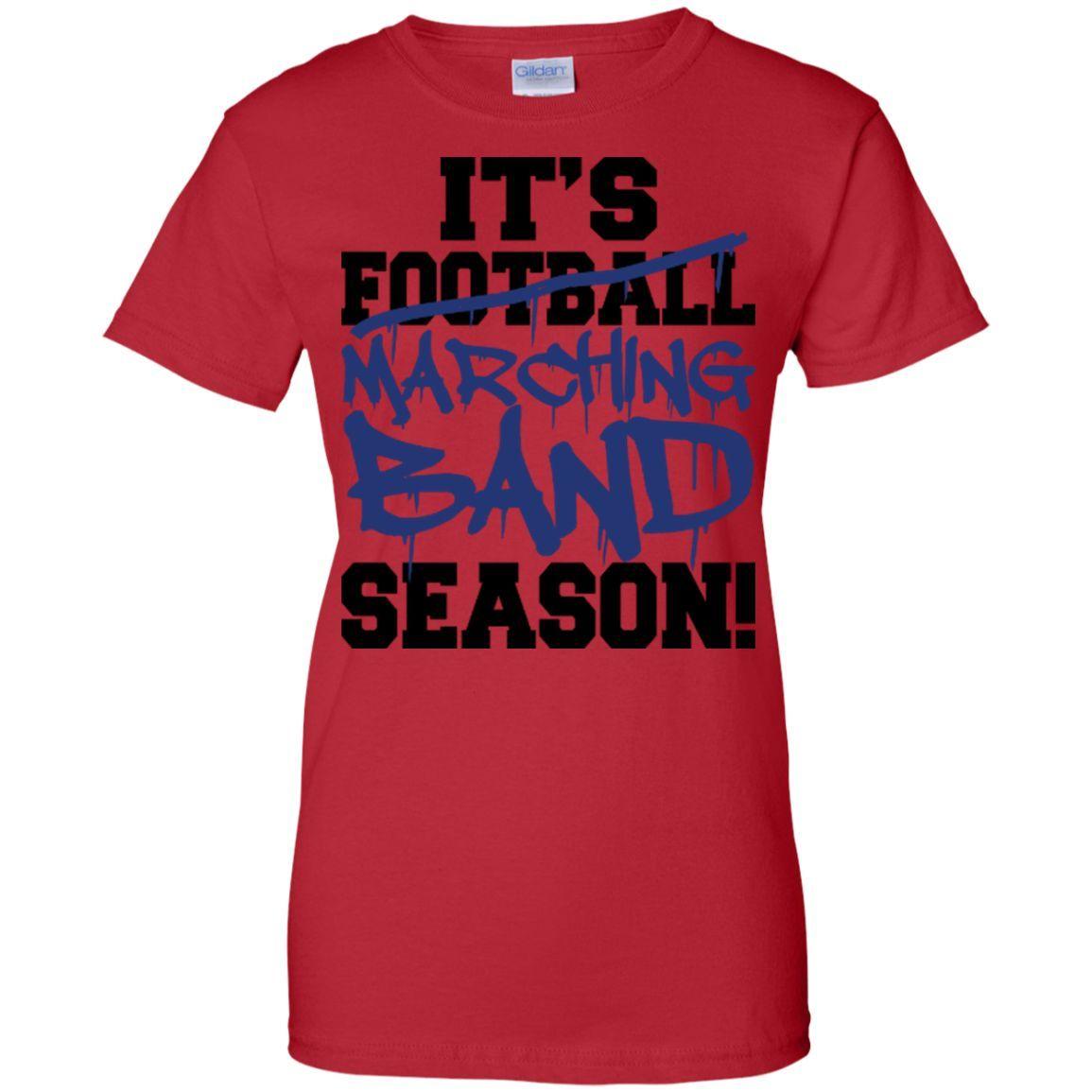 Marching Band Season T-Shirt Style 1
