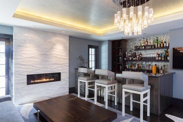 17 Fabulous Modern Home Bar Designs You\'ll Want To Have In Your Home ...
