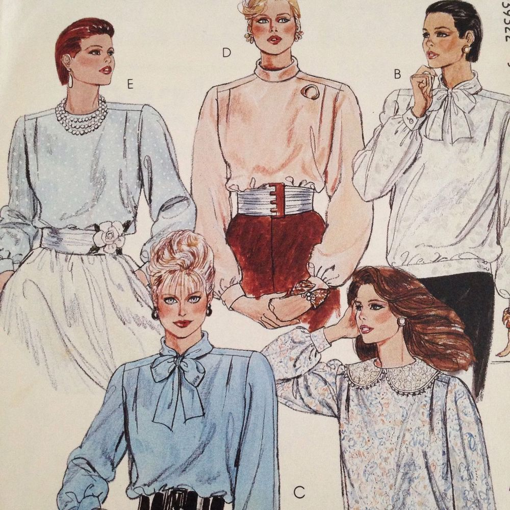 Butterick Sewing Pattern # 3932 Misses Jacket Top Skirt and Pants Size 6-8-10