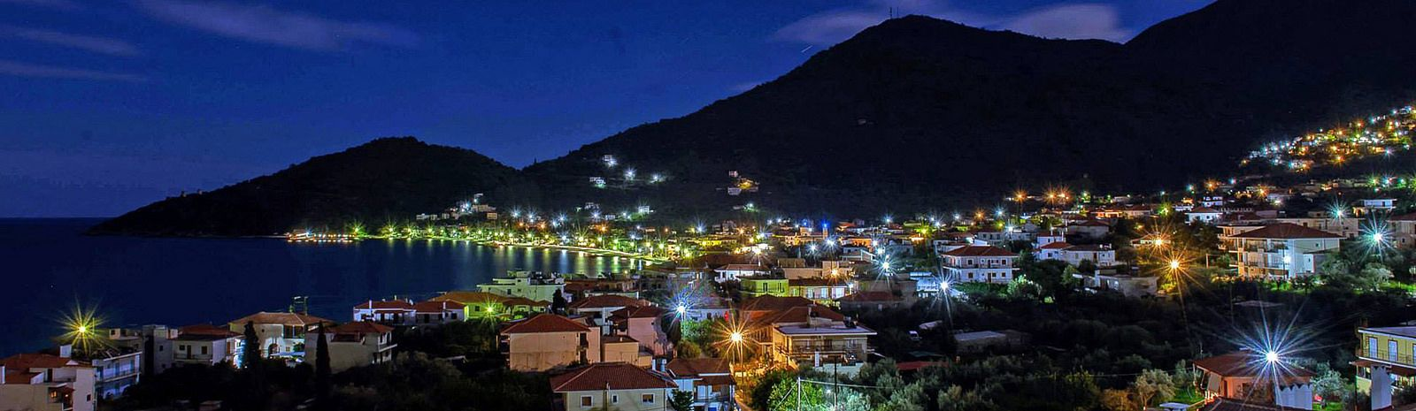 https://flic.kr/p/rmZV63 | Tyros Peloponnese Greece | A beautiful night view from Tyros Greece. www.hotel-paraskevas.com/en/
