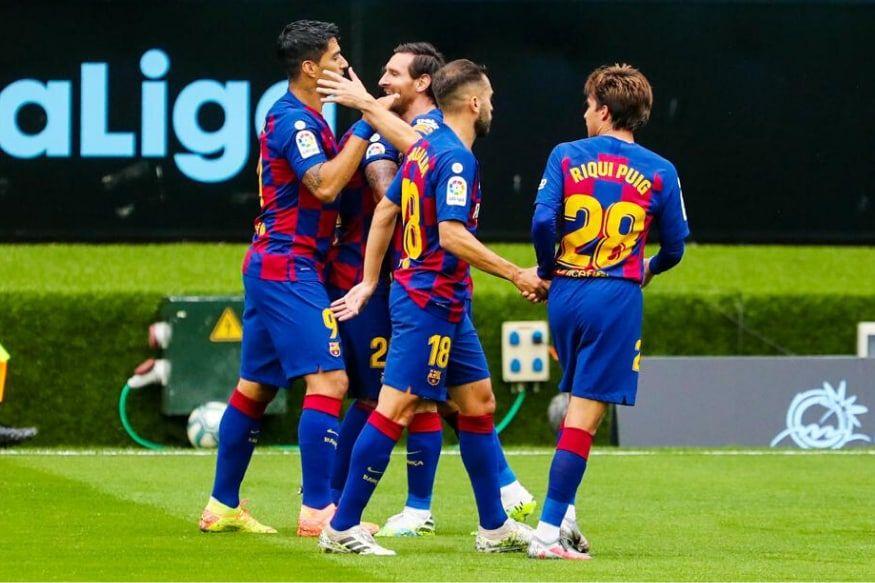 La Liga 201920 Barcelona vs Atletico Madrid Live