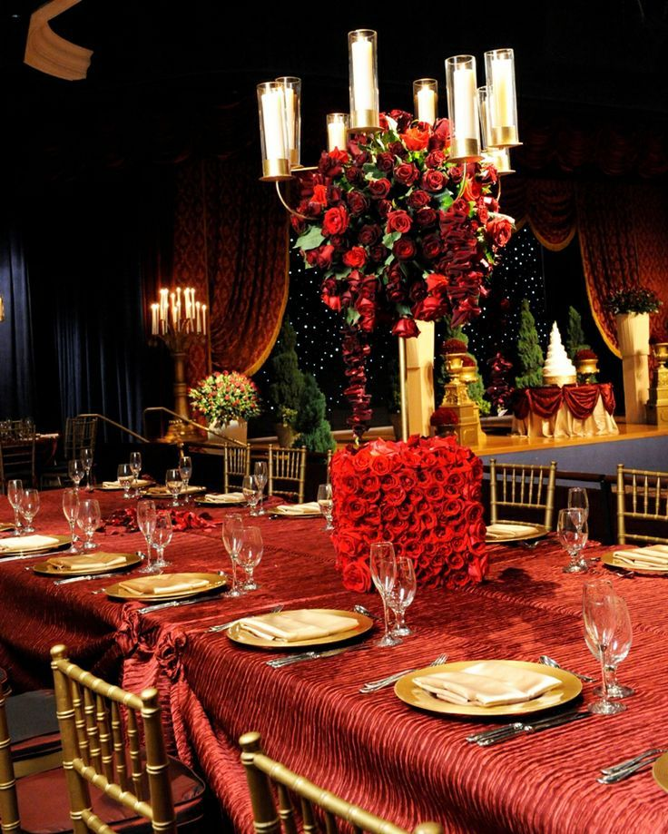 Beauty And The Beast Inspired Wedding Reception At Disney