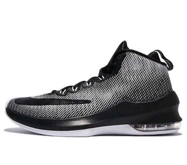 Nike Mens Air Max Infuriate Mid Basketball Shoes AA4438 010 NEW ... 4a46211ebe5