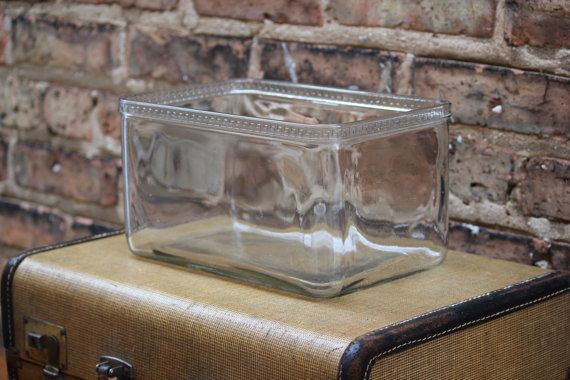 glass battery vintage