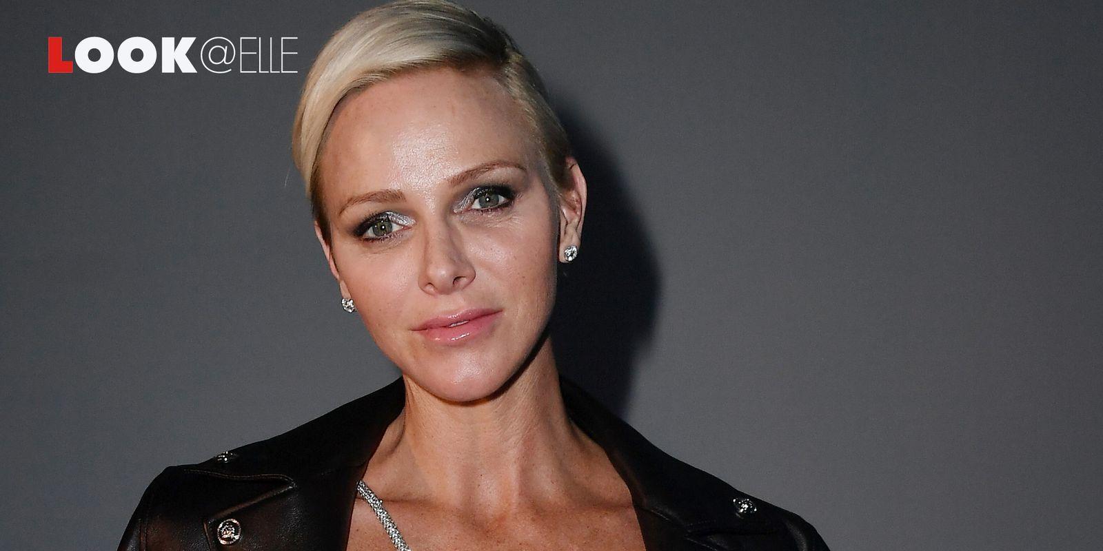 Charlène di Monaco e il suo cappotto grigio sono la quintessenza dell'eleganza dell'Inverno 2019 2020