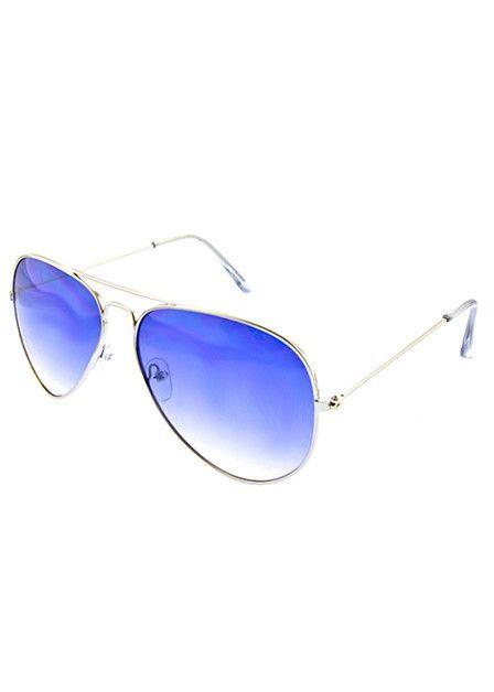 Royal Blue Aviators