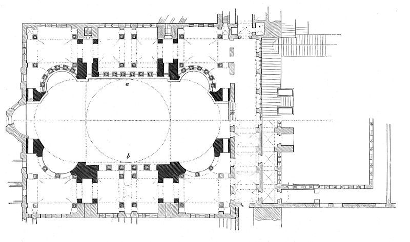 Hagia Sophia Plan The Exedrae Are Reminiscent Of San Vitale And Little Hagia Sophia However The Central Space Is S Hagia Sophia How To Plan Byzantine Art