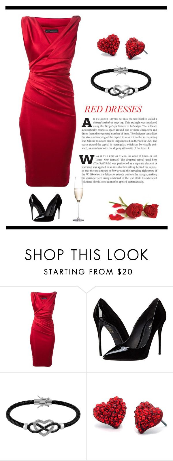 """Shine"" by patricia-dimmick ❤ liked on Polyvore featuring Dsquared2, Dolce&Gabbana, Jewel Exclusive, Fantasy Jewelry Box, RogaÅ¡ka, women's clothing, women, female, woman and misses"