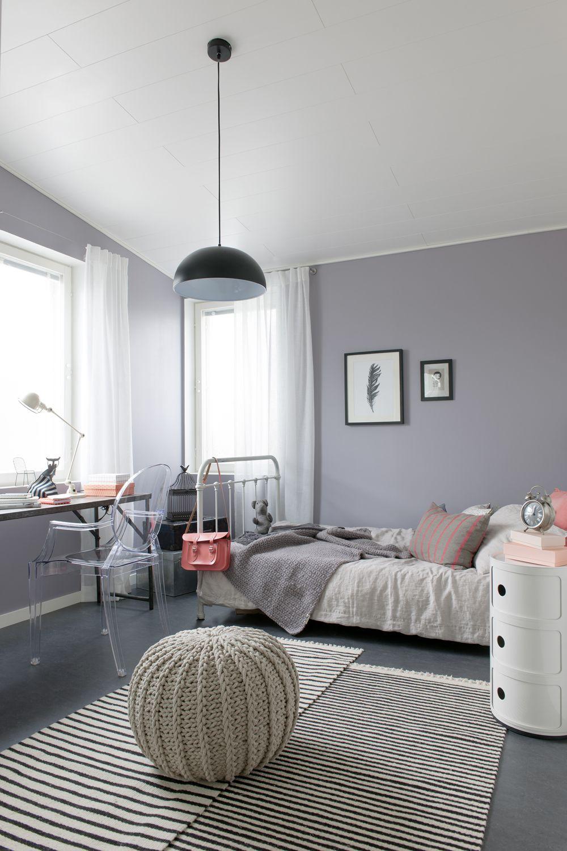 Lieblich Ein Helles Grau An Der Wand. #KOLORAT #Wandgestaltung #Grau