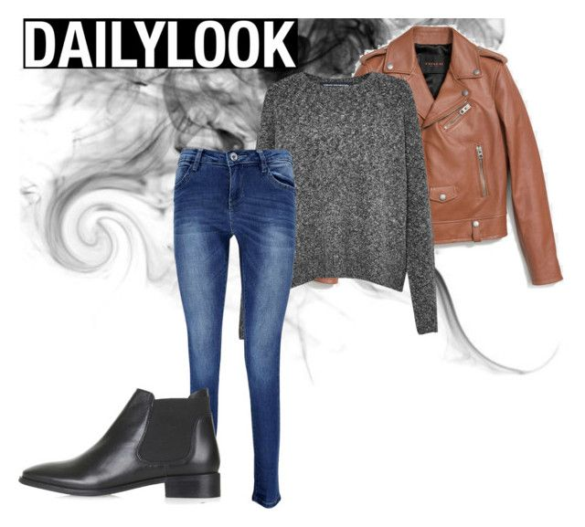 """""""Daily look"""" by pep-powell on Polyvore featuring Coach, French Connection, Boohoo and Topshop"""