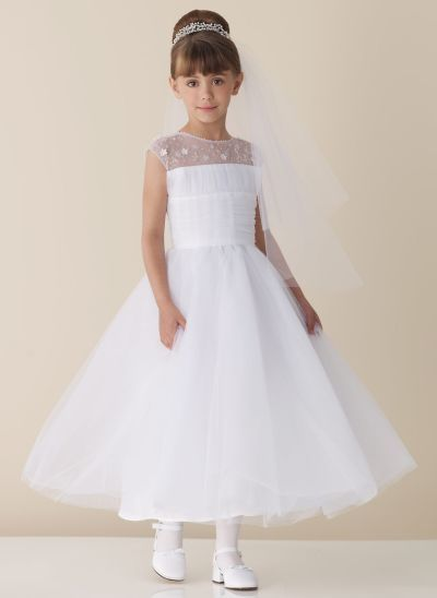 30239b390b6 Check out the deal on Joan Calabrese by Mon Cheri Flower Girl Dress 110322  at French Novelty