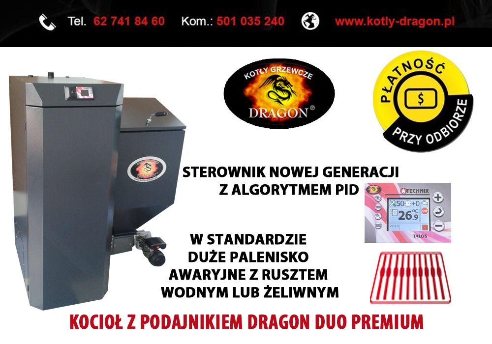 Kociol Z Podajnikiem Dragon Duo Premium Automatyczne Kotly Grzewcze Dragon Duo Premium Z Obrotowym Podajnikiem Slimakowym Arcade Games Gaming Products Arcade